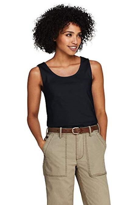 Land's End Women's Cotton Tank Top