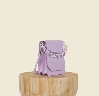 Bellows Crossbody in Lilac