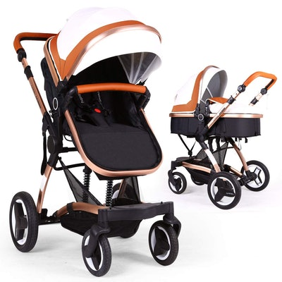 Bassinet Baby Stroller Reversible All Terrain - Cynebaby Vista City Select Strollers for Infant Todd...