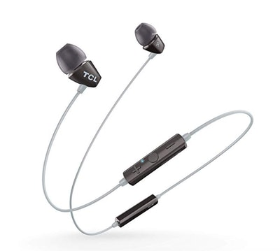 TCL SOCL100BT in-Ear Earbud Noise Isolating Wireless Headphones