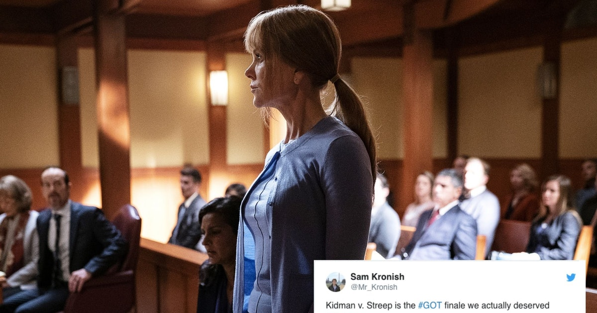 Celeste & Mary Louise's 'Big Little Lies' Court Battle May Be So Good, It'll Make Up For The 'GoT' Finale