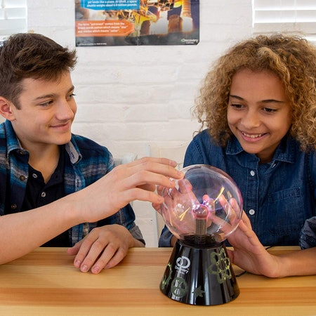 Interactive Discovery Touch & Sound Activated Plasma Globe