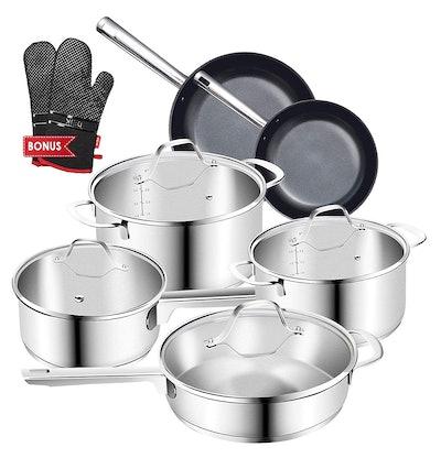 Cookware Set Pots and Pans