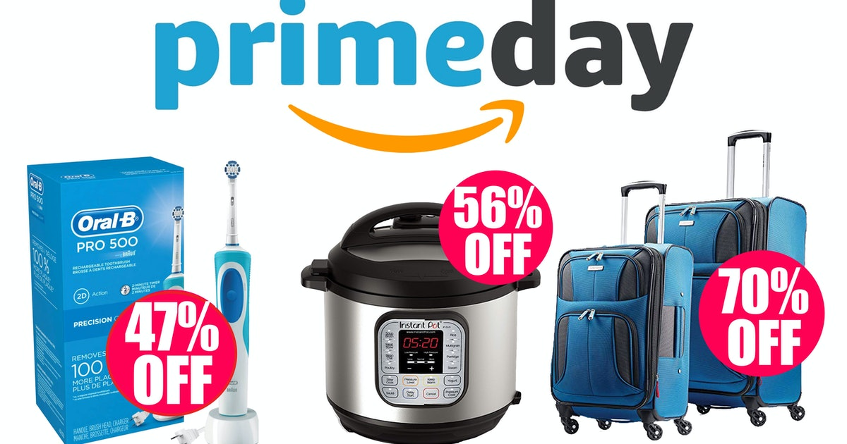 Here Are The Most Exciting Prime Day Deals (Save Up To 80% Off Before They Sell Out)