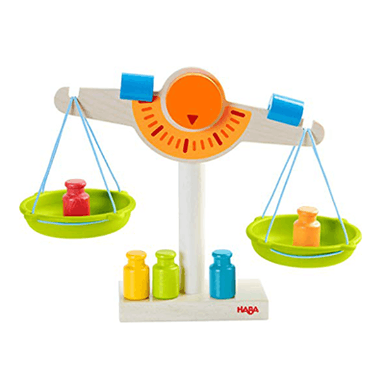 Wooden Balance Scale (3+)