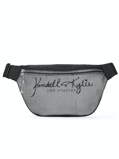Kendall + Kylie for Walmart Black Mix Large Fanny Pack