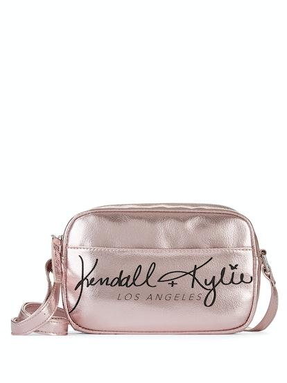 Kendall + Kylie for Walmart Pink Metallic Crossbody