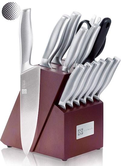 Cutlery Knife Block Set 15-piece