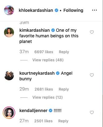 Khloe Kardashian's Photo Of True Wearing Pink Bunny Pajamas