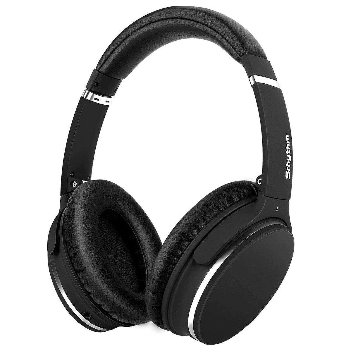 Noise Cancelling Headphones Real Over Ear,Wireless Lightweight Srhythm Durable Foldable Deep Bass Hi...