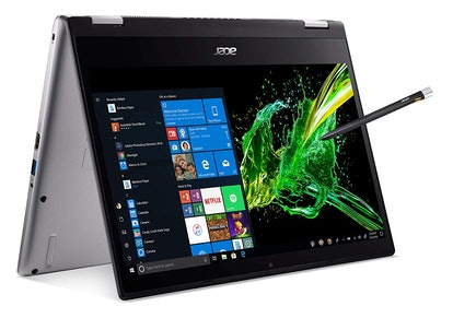 "Acer Spin 3 Convertible Laptop, 14"" Full HD IPS Touch, 8th Gen Intel Core i7-8565U, 16GB"