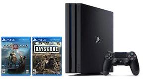 PlayStation 4 Pro 1TB Console - Days Gone + God of War Bundle
