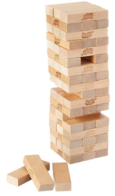 Jenga Wooden BlocksTower Kids Game