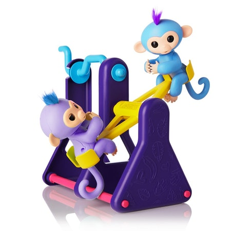 WowWee Fingerlings Playset With 2 Baby Monkey Toys