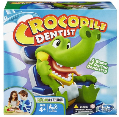 Hasbro Crocodile Dentist Kids Game