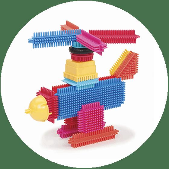 Bristle Blocks (2+)