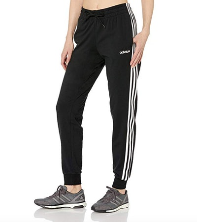 Adidas Women's Essentials 3-Stripes Single Jersey Pants