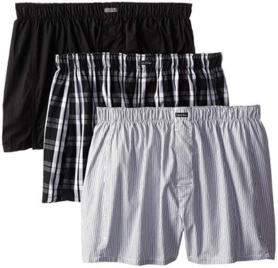 Calvin Klein Men's Cotton Classics 3-Pack Boxers