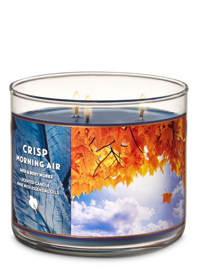 Crisp Morning Air 3-Wick Candle