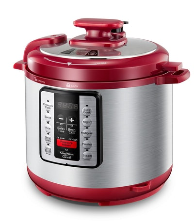 Electric Pressure Cooker ICOOKPOT 9-in-1 Multi-Use Programmable Smart Pressure Cooker