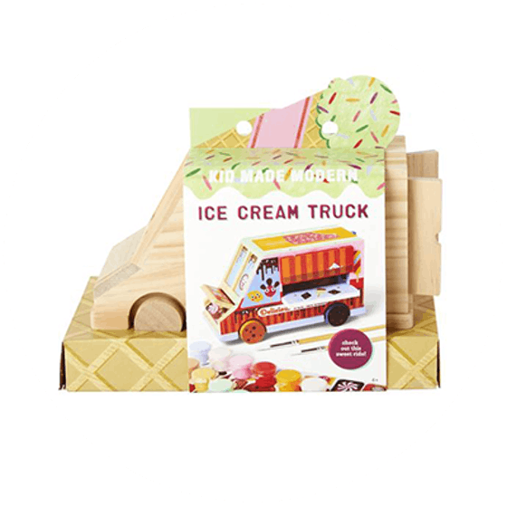 Paint Your Own Ice Cream Truck Kit (6+)