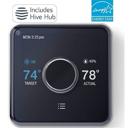 Hive Heating and Cooling Smart Thermostat + Hub