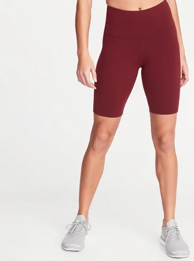 High-Rise Elevate Compression Bermuda Shorts for Women - 8-inch inseam