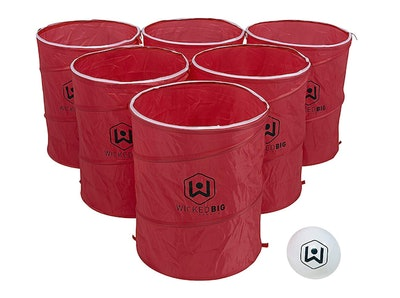 Wicked Big Sports Supersized Pong Outdoor/Indoor Sport Tailgate Game