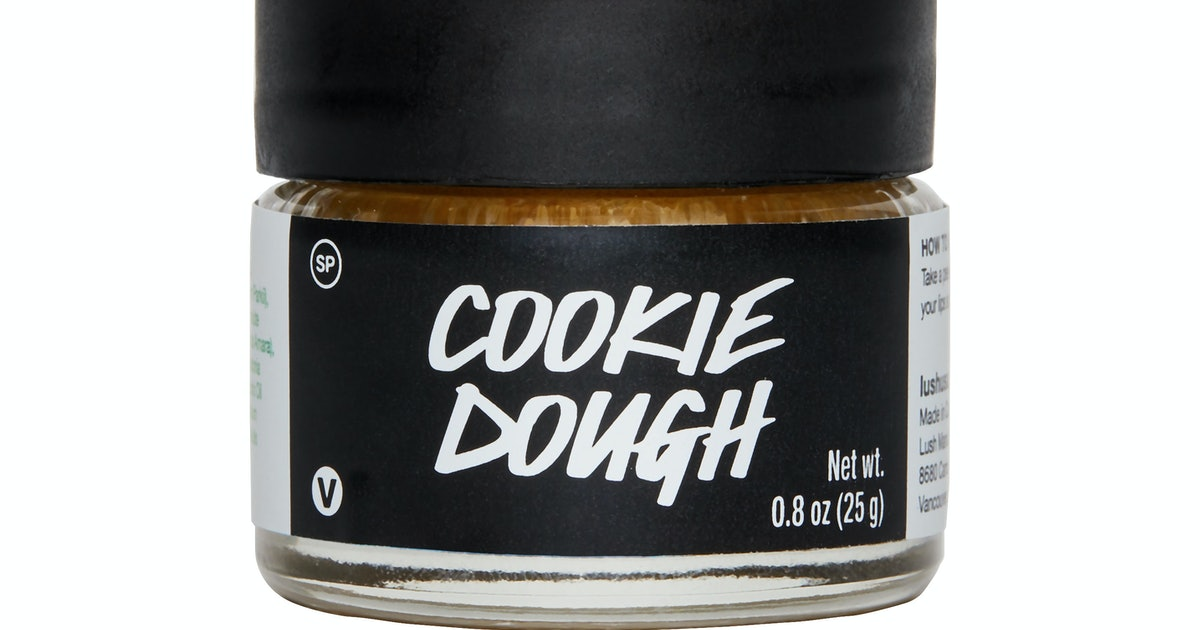 Lush's Cookie Dough Lip Scrub Smells Like A Bakery On Your Lips