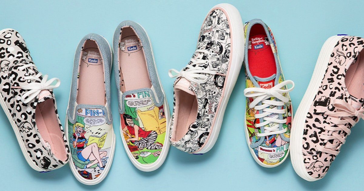 Keds' Second Betty & Veronica Collaboration Is Comically Good