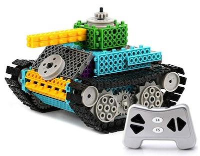 PACKGOUT STEM Toys Remote Control Tank Building Kit