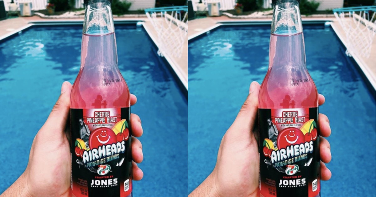 Airheads Soda Is At 7-Eleven & It Sounds Like The Perfect Summer Drink