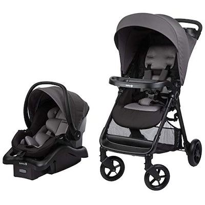 Smooth Ride Travel System with OnBoard 35 LT Infant Car Seat, Monument 2
