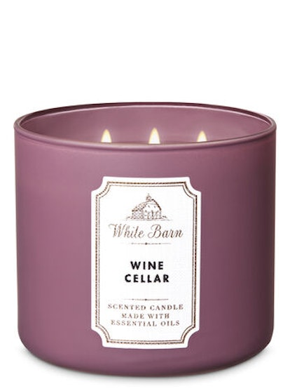 Wine Cellar 3-Wick Candle