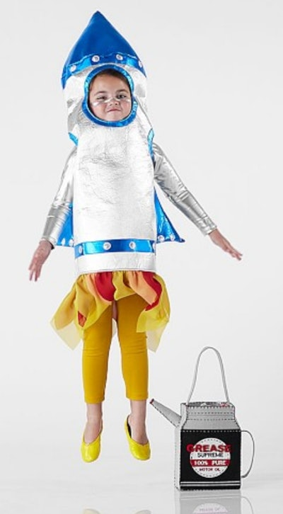 3D Rocket Costume