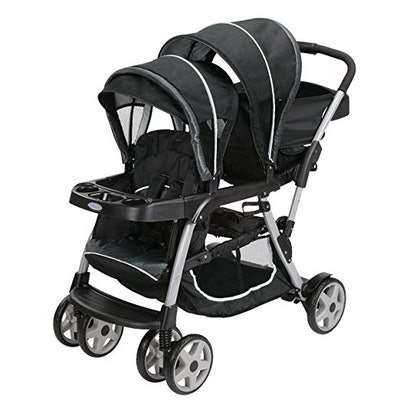 Ready2Grow LX Double Stroller, Gotham