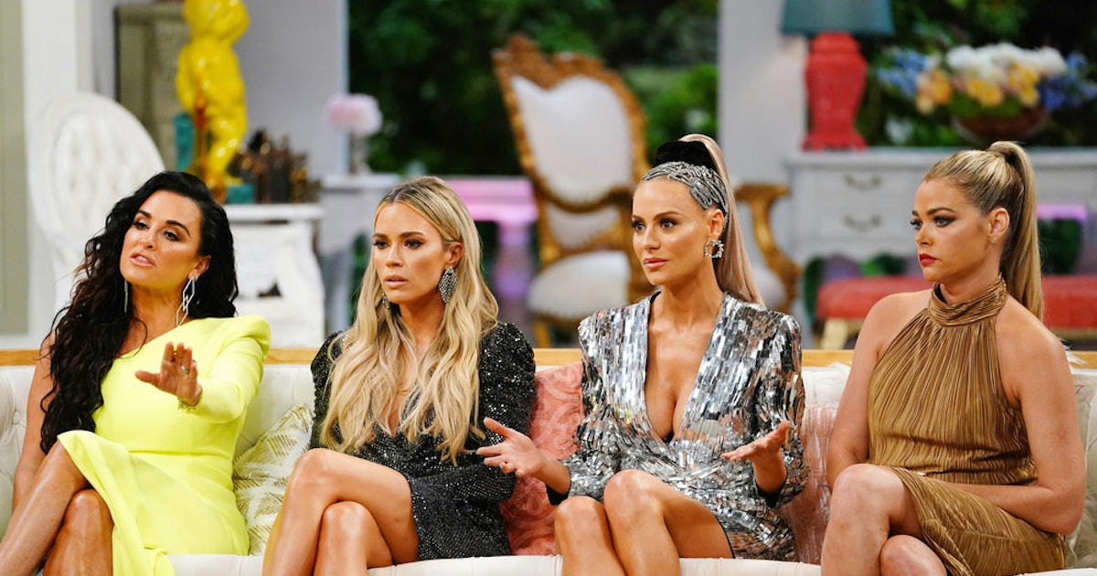 The 'RHOBH' Reunion Comments About Lisa Vanderpump Were Icy At Best
