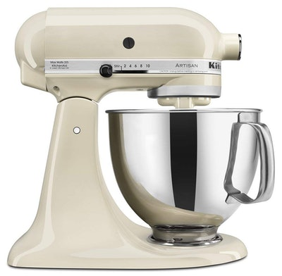 KitchenAid Artisan Series 5-Qt. Stand Mixer with Pouring Shield - Almond Cream