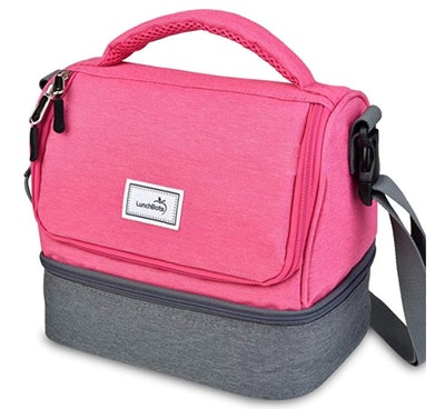 LunchBots Duplex Insulated Lunch Bag - Dual Section Design