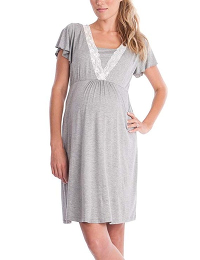 ZHENWEI Women's Maternity Dress