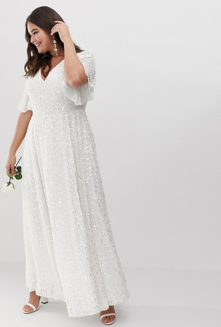 25 Best Plus-Size Wedding Dresses Under £300, Because What You Wear ...