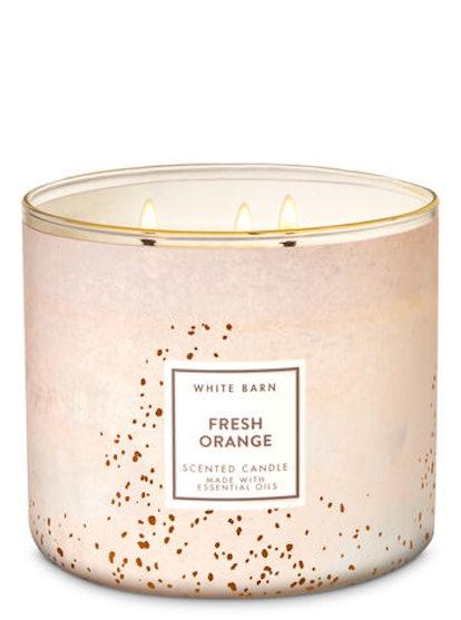 FRESH ORANGE 3-Wick Candle
