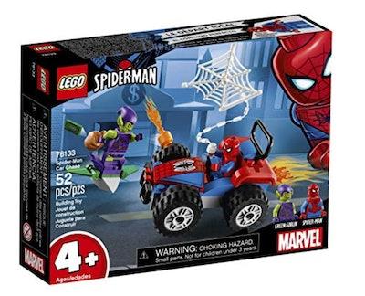 LEGO Marvel Spider-Man Car Chase 52-Piece Building Kit
