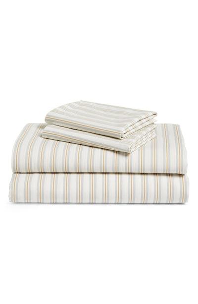 BP. 200 Thread Count Stripe Sheet Set
