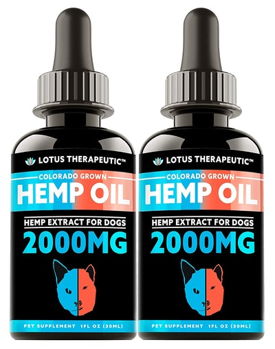 Two Pack Hemp Oil for Dogs & Cats (Colorado Grown)