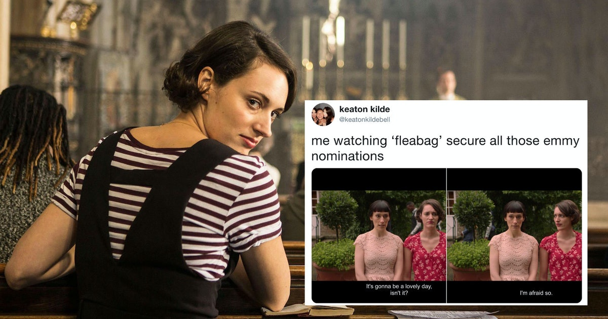 These Tweets About 'Fleabag's 2019 Emmy Nominations Are A Religious Experience