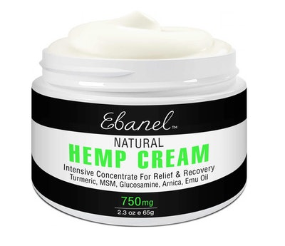Natural Hemp Cream for Pain Releif