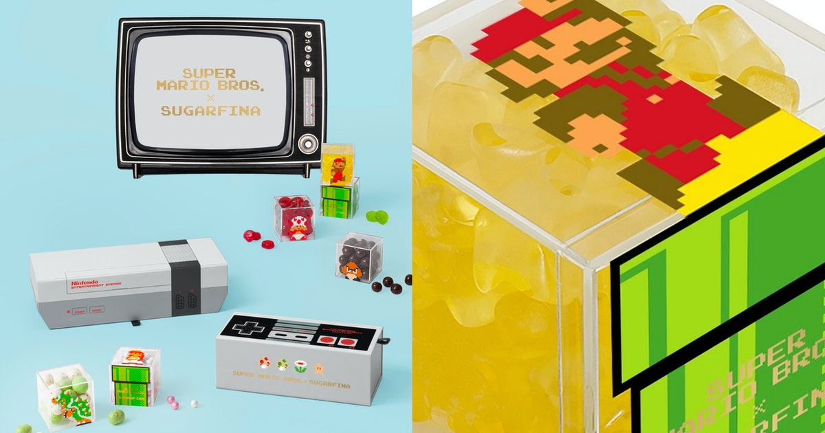 The Super Mario Bros. x Sugarfina Candy Collab Is A Sweet Dose Of Nostalgia