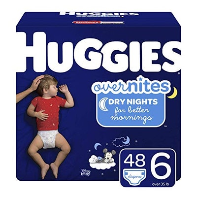 OverNites Diapers, Size 6, 48 ct