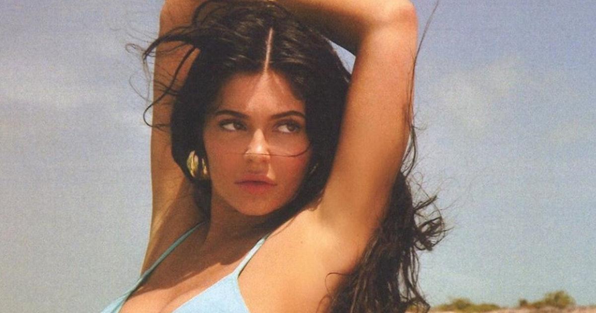Kylie Jenner's Blue Chanel Bikini Is Older Than She Is
